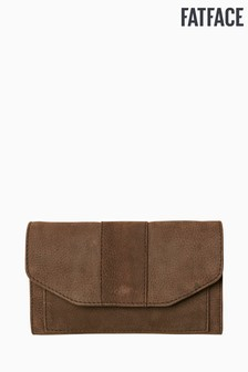FatFace Grey Nubuck Matinee Purse