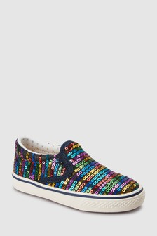 Sequin Skate Shoes (Younger)