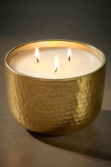 Vetiver & Tonka Bean Ceramic Candle