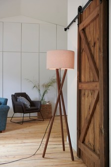Ash Wood Floor Lamp