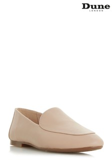Dune London Pink Slip-On Flexi Loafer