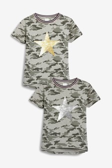 T-shirts & Tops Lovely Children Camouflage Army Print T Shirt Boys Short Sleeve Green Brown Shirt