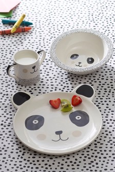 Panda 3 Piece Feeding Set