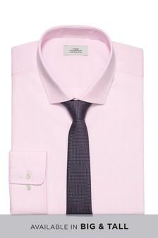 Рубашка и фактурный галстук (комплект)