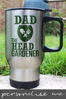 Personalised Head Gardeners Outdoor Mug by Treat Republic