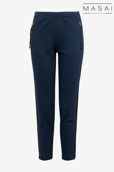 Masai Blue Posie Capri Trousers