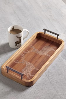 Stag Wooden Tray