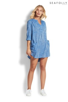 Seafolly Chambray Beach Shirt