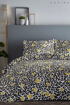 Fusion Leopard Bed Set