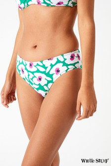 White Stuff Green Poppy Floral Bottoms