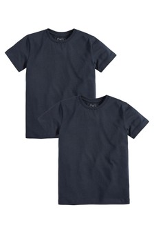 2 Pack Short Sleeve T-Shirts (3-16yrs)