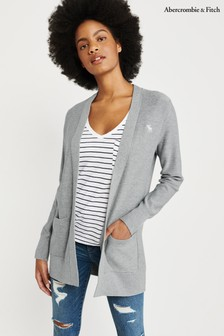 Abercrombie & Fitch Grey Moose Cardigan