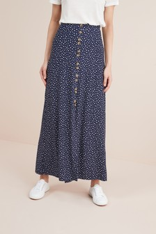 114dddf82f1 Maxi Button Skirt