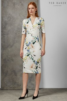 677c6a9ce Ted Baker White Bodycon Dress