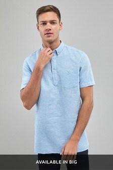 Linen Cotton Overhead Shirt