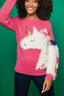 Christmas Unicorn Sweater