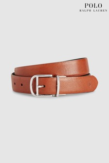 Polo Ralph Lauren® Black Tan Reversible Belt