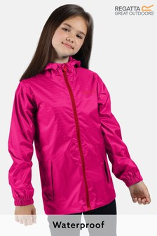Regatta Kids Pack It Waterproof & Breathable Puddle Jacket