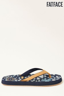 FatFace Navy Bay Ditzy Floral Flip Flops