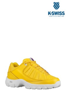 K•Swiss Yellow ST529 Heritage Trainer