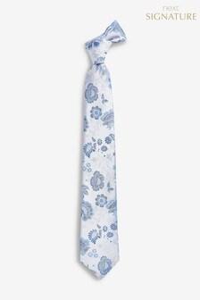 Шелковый галстук из именной коллекции