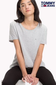 Tommy Jeans Grey T-Shirt