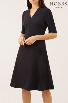 Hobbs Navy Courtney Dress