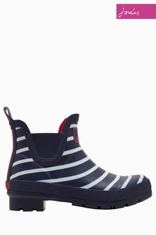 Joules Navy Stripe Wellibob