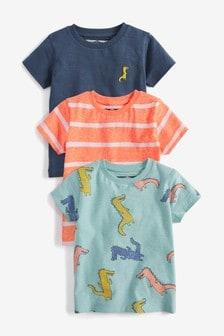 Crocodile T-Shirts Three Pack (3mths-7yrs)