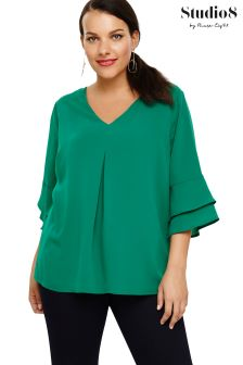 Womens Ruffle Shirts Ladies Ruffle Tops Next Official Site