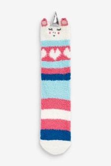 Уютные носки-сапожки