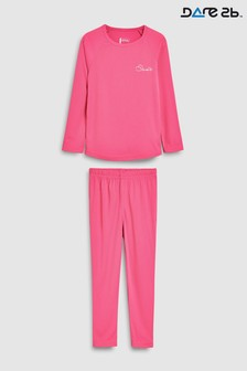 Dare 2b Division Thermal Pink Base Layer Set