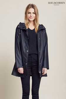 Ilse Jacobsen Navy Raincoat