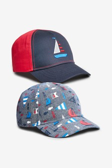 Nautical Caps Two Pack (Younger)