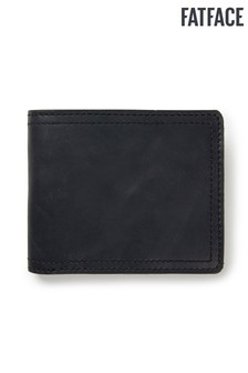 FatFace Black James Border Wallet