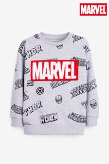 Marvel® Bouclé Crew Sweater (3-16yrs)