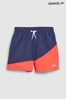Speedo® Navy/Red Colourblock Water Short
