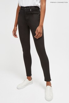 French Connection Black R Rebound 30 Skinny Jeans