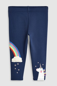 Unicorn Embellished Leggings (3mths-7yrs)