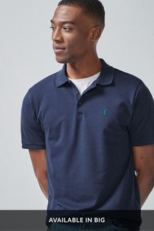 Navy                     Slim Fit                     Pique Polo