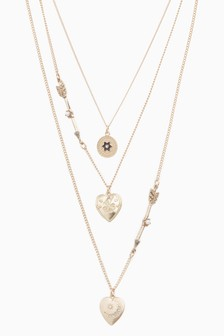 359138a83 Womens Necklaces | Silver & Gold Statement Necklaces | Next UK