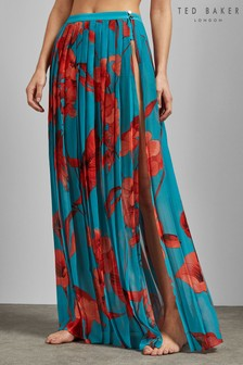 Ted Baker Turquoise Maxi Skirt Cover Up
