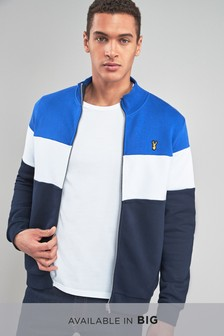 Colourblock Zip Through