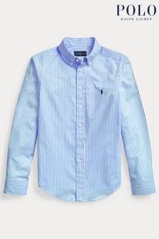 Ralph Lauren Blue/White Stripe Shirt