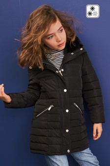 Shower Resistant Padded Zip Through Jacket (3-16yrs)