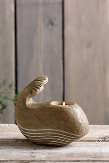 Whale Tealight Holder