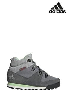 adidas灰色Snow Pitch靴款