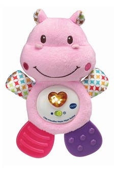 VTech Little Friendlies Happy Hippo Pink Teether