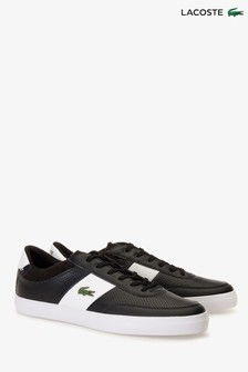 Lacoste® Black Courtmaster Trainer