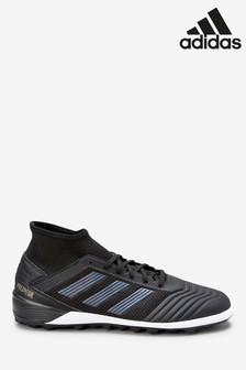 adidas Black Dark Script Predator Turf Football Boots